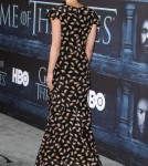 Emilia Clarke at The Game Of Thrones Season 6 Premiere in Hollywood