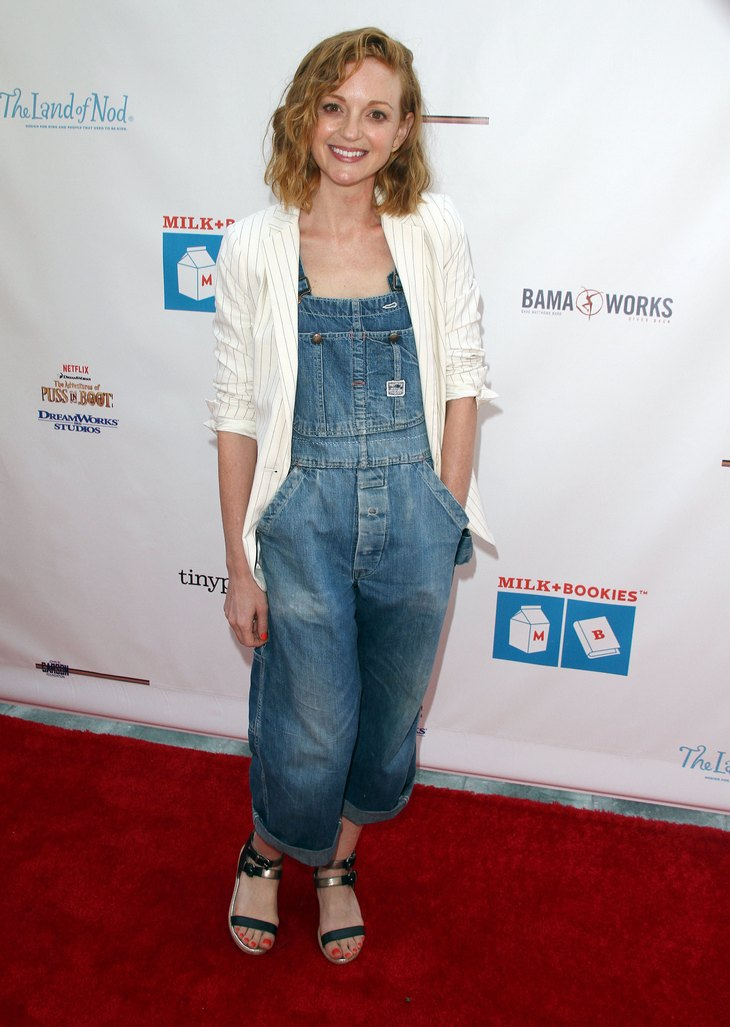 Jayma Mays Pregnant – Glee Star Expecting First Child ...