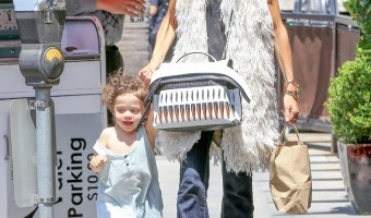 Rachel Zoe and Son Kaius Go On a Shopping Adventure