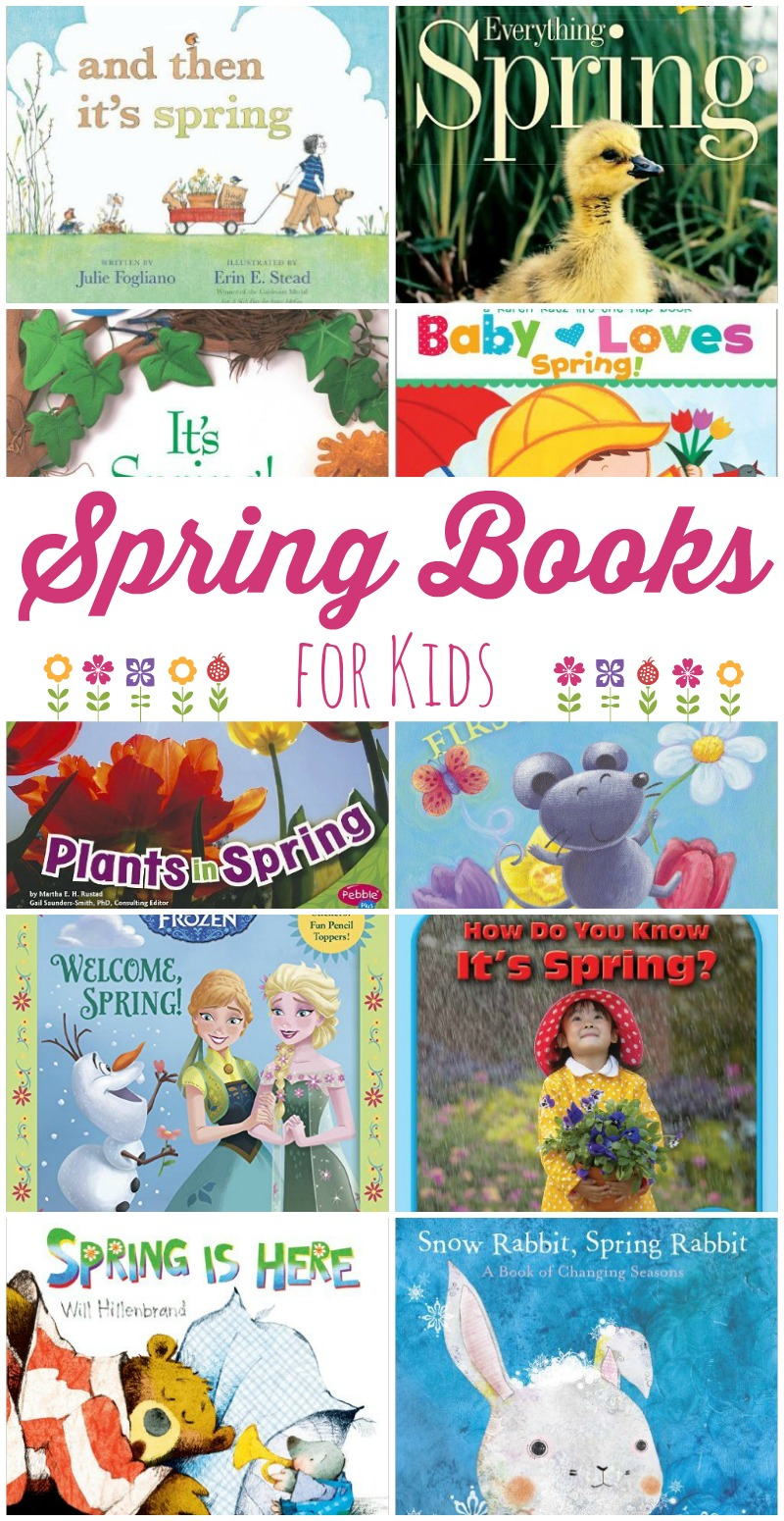 10 Must Read Spring Books For Kids