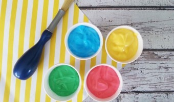 Babies Can Be Creative Too With Baby Safe Paint
