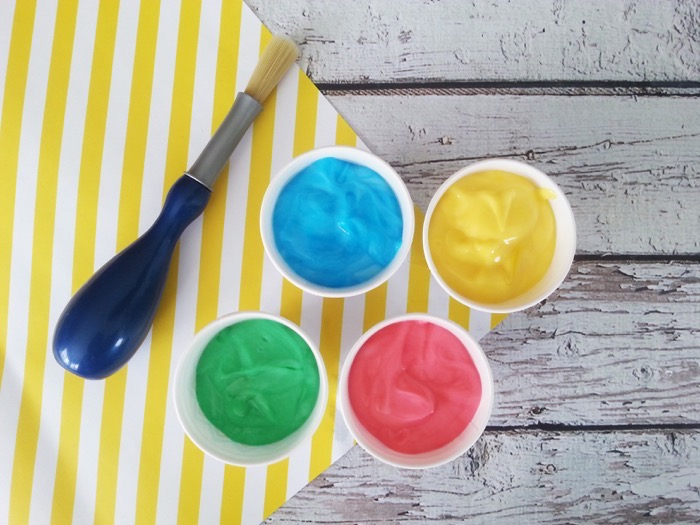 Babies Can Be Creative Too With Baby Safe Paint Celeb Baby Laundry