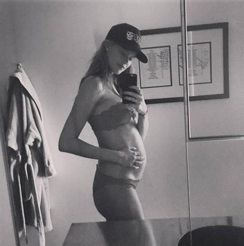 behati prinsloo pregnant