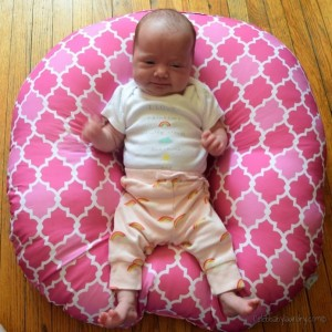 The Boppy® Newborn Lounger Makes Baby Happy & Life Easier