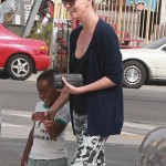Charlize Theron Catches Lunch With Jackson
