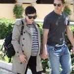 Pregnant Ginnifer Goodwin & Josh Dallas Catch Lunch