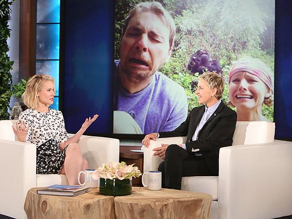 Kristen Bell Talks Motherhood With Ellen