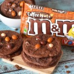 Mocha Chocolate Nut M&M Cookies