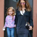 Jessica Alba Takes Daughter Haven To The Doctor