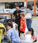 52075643 'Fall Out Boy' member Pete Wentz was spotted at the farmers market in Los Angeles, California on May 29, 2016.  Pete met fans while he was out with his family and made sure to stop and talk with them. FameFlynet, Inc - Beverly Hills, CA, USA - +1 (310) 505-9876