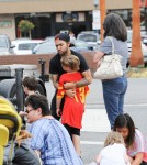 52075644 'Fall Out Boy' member Pete Wentz was spotted at the farmers market in Los Angeles, California on May 29, 2016.  Pete met fans while he was out with his family and made sure to stop and talk with them. FameFlynet, Inc - Beverly Hills, CA, USA - +1 (310) 505-9876