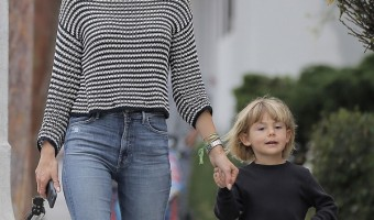 Alessandra Ambrosio Out And About With Noah