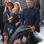 Alec Baldwin Brings Family to Jimmy Kimmel Interview