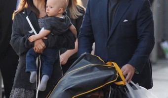 Alec Baldwin Brings Family to Jimmy Kimmel Interview