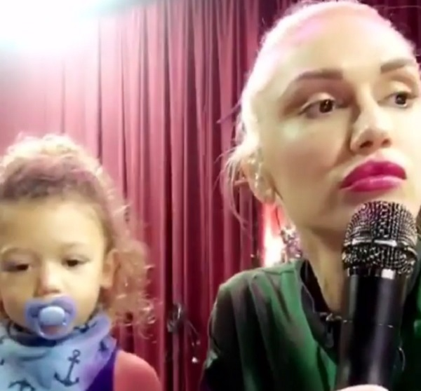 Apollo Rossdale Sings Along With Mom Gwen Stefani - Watch The Cute Video!