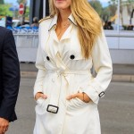 Pregnant Blake Lively Touches Down in Nice