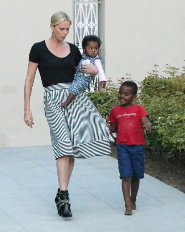 charlize-theron-kids-party1