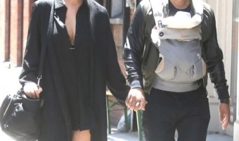 John Legend & Chrissy Teigen Stroll With Luna