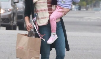 Jenna Dewan-Tatum & Everly Enjoy Mother-Daughter Day