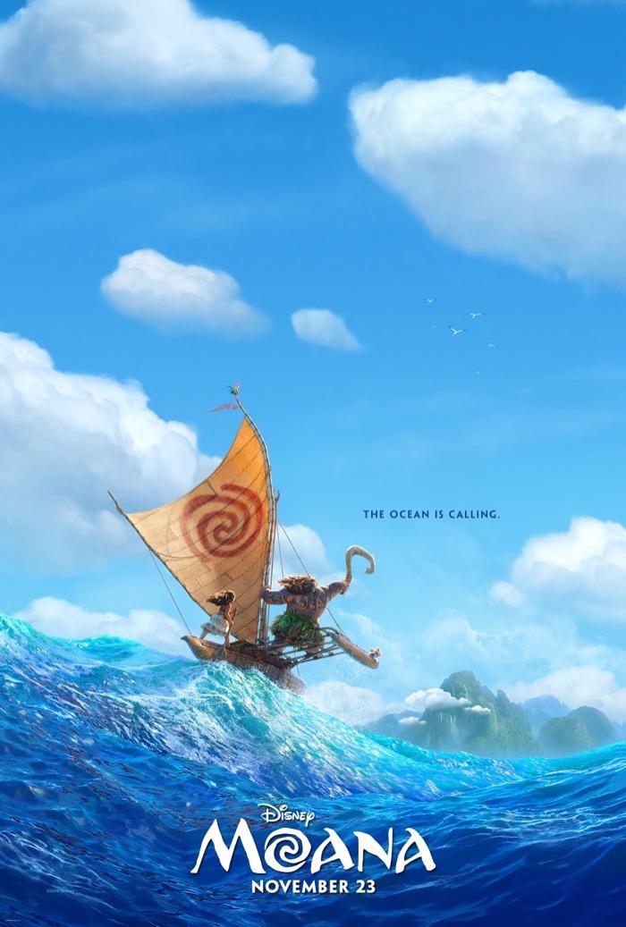 MOANA - New Teaser Trailer & Poster