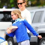 Jennifer Garner And Violet Affleck Out And About In Los Angeles