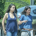 Mila Kunis' Baby Bump Spotted In Los Angeles
