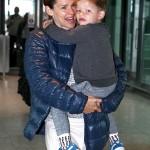 Jennifer Garner And Son Samuel Leave London