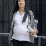 Lisa Ling Shows Off Baby Bump While Shopping