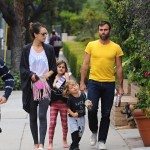 Alessandra Ambrosio: Sunday Family Day