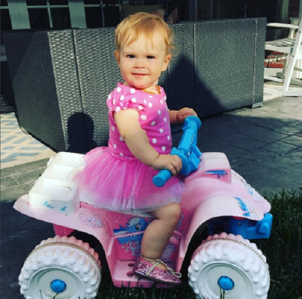 Jack Osbourne Shares Photo Of Daughter Andy Rose On Her 1st Birthday