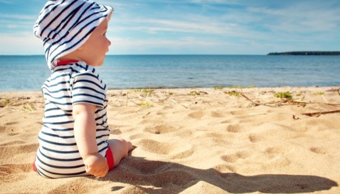How to Have a Safe Beach Vacation with Young Children
