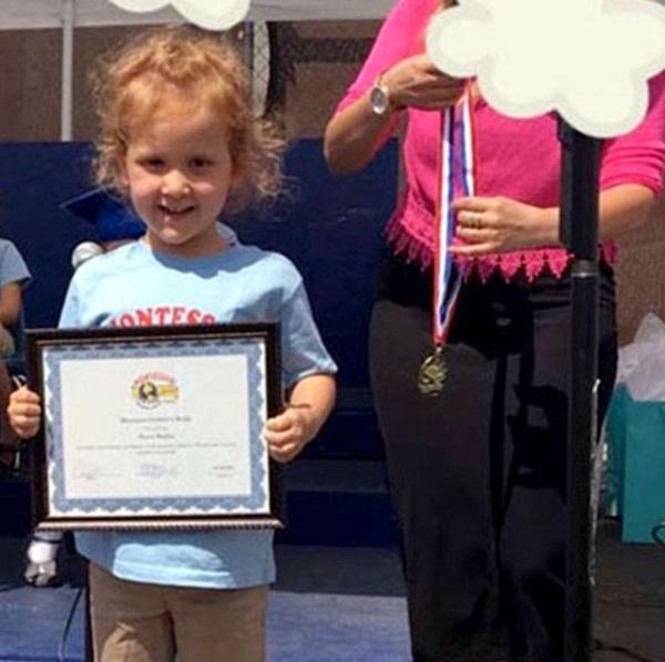 Jessica Alba's Daughter Haven Garner Graduated From Pre-School!
