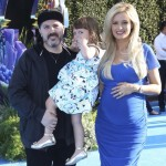 Holly Madison Goes Blue For the Finding Dory World Premiere
