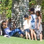 Jessica Alba: Friday Park Day With The Girls