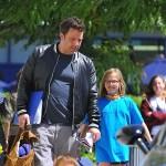 Ben Affleck Picks Daughter Violet Up From School