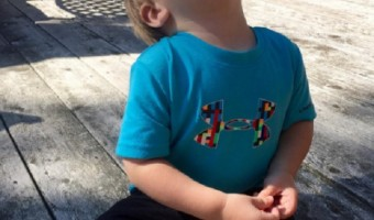 Carrie Underwood's Son Isaiah Fisher Splashes In The Pool