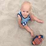 Alec Baldwin Bonds With Baby Rafael At The Beach