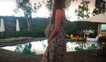 Behati Prinsloo Shows Off Baby Bump On Date With Adam Levine As Due Date Nears