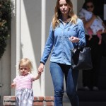Emily Blunt Spends Quality Time With Hazel