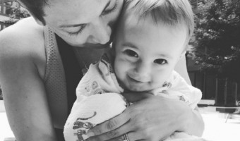 Ginger Zee Shares Adorable Video Of Baby Adrian Learning To Swim
