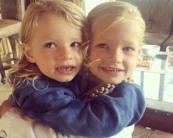 Jessica Simpson's Kids Ace And Maxwell Have Fun In The Sun