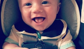 Kelly Clarkson Shares Photo Of Baby Remington Smiling At The Doctor's
