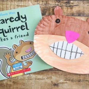 Scaredy squirrel craft