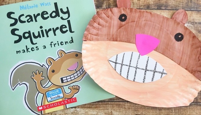 Promote Reading With This Fun Scaredy Squirrel Craft