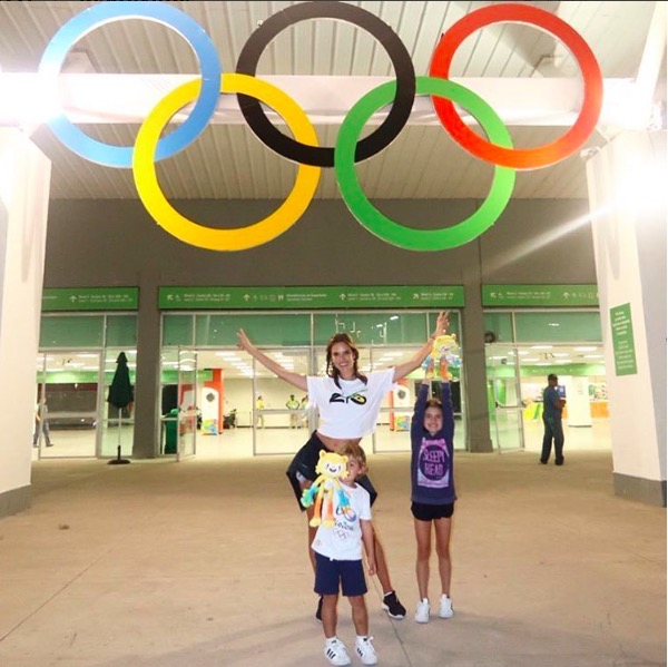 Alessandra Ambrosio & Family's Olympic Spirit in Rio