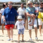 Elton John & Family Vacation in Saint-Tropez