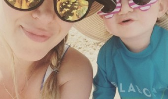 "Haylie Duff Shares Adorable New Photo Of Her ""Lil Comet"" Baby Ryan"
