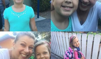 Jodie Sweetin's Daughters Zoie and Beatrix Smile On Their First Day Back To School