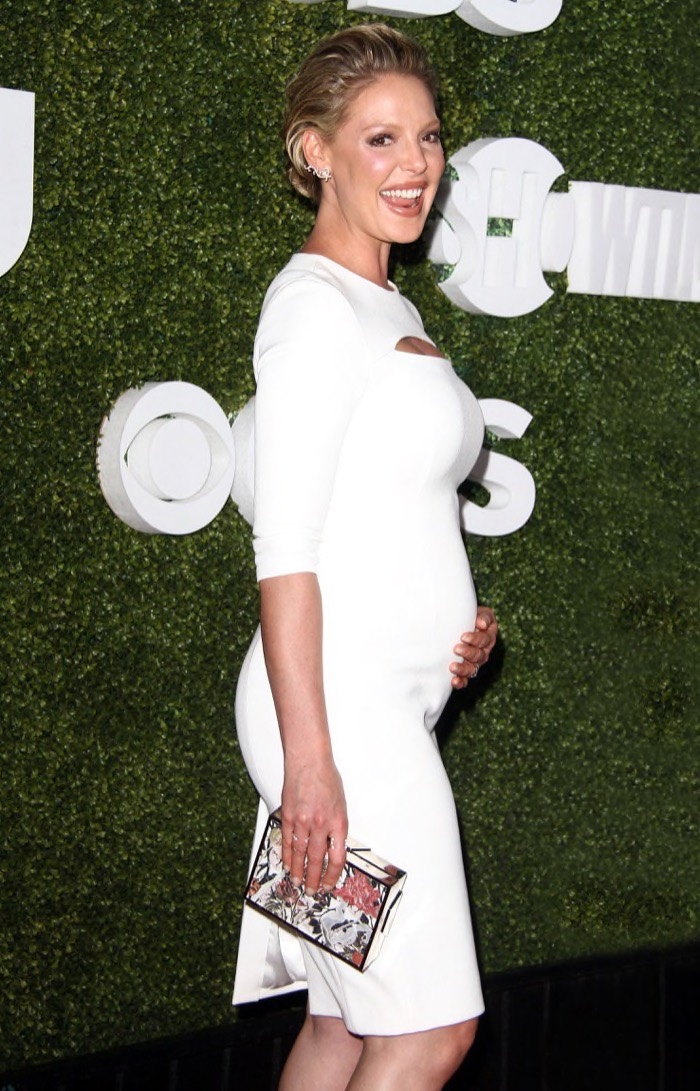 Katherine Heigl Glows On The Red Carpet | Celeb Baby Laundry