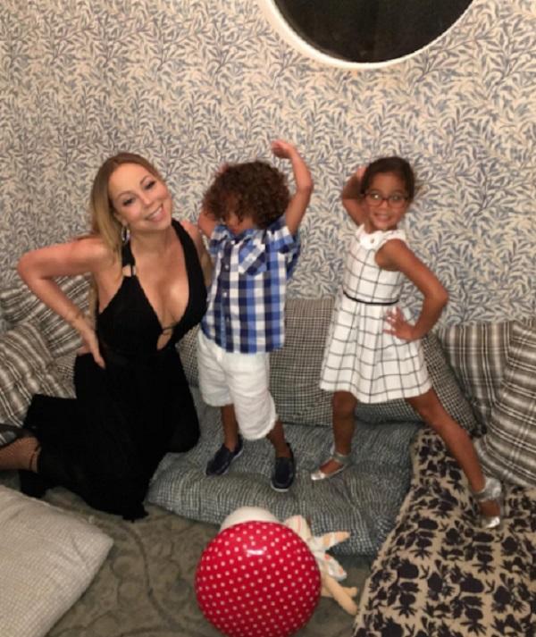 Mariah Carey Kids Mariah Carey At Au Fud...